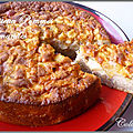 Cake pommes amandes au thermomix ou cook in (ou sans)