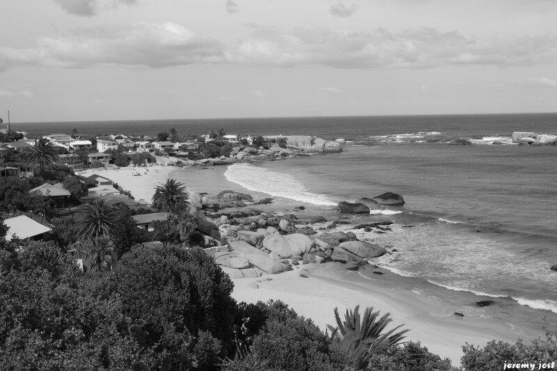 Clifton Beach N&B
