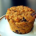 Muffins moelleux, gourmands... et sains !
