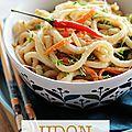 Udon sauce cacahuète