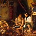 Femmes d'Alger dans leur appartement_Eugène Delacroix 1834