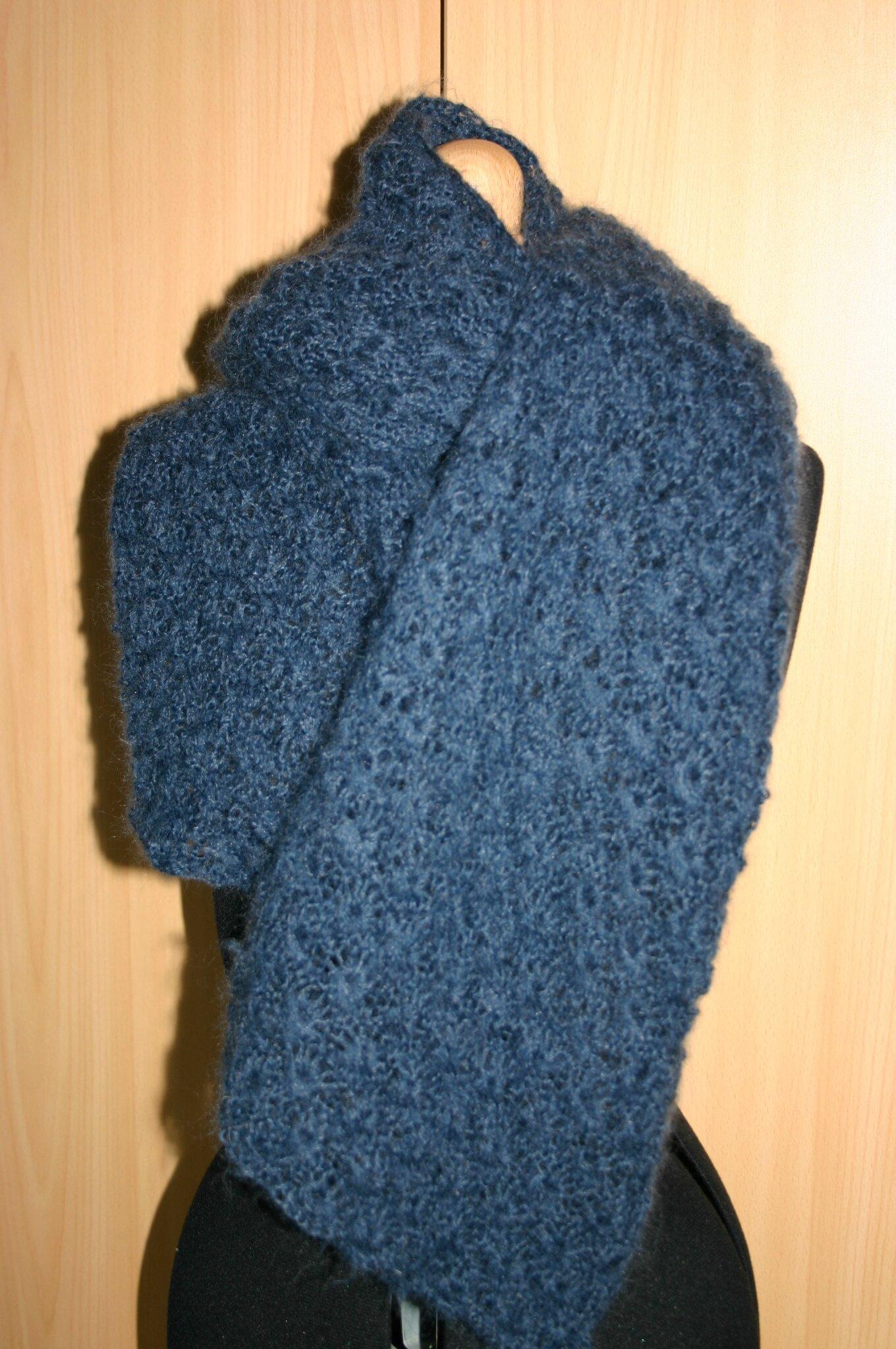 écharpe bleue 002