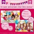 Les <b>anniversaires</b> <b>Créatifs</b> chez Déco avenue !