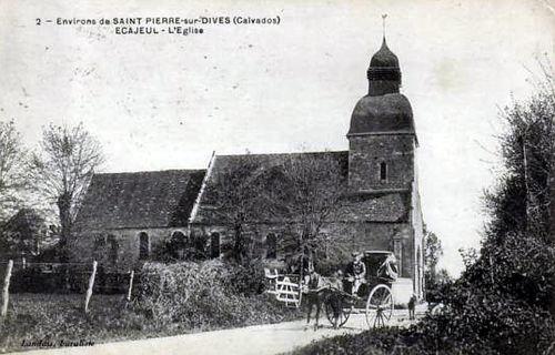 Ecajeul - l'église