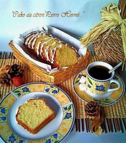 Cake au citron Pierre Hermé1