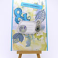 Carte aux 6 consignes - New birthday card