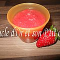 Compote toute rose
