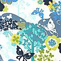 papillon et arbre
