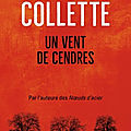 Un vent de cendres de Sandrine <b>Collette</b>