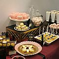 Sweet table réveillon chez gatsby : les calissons