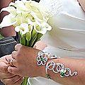 bracelet de mariée de Anne 11 juin 2011