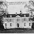 <b>SAINT</b>-<b>GERMAIN</b>-DES-<b>PRÉS</b> - ANGERS (49) - MARIE-LOUISE HUNAULT DE LA CHEVALERIE, MARQUISE DE JOUSSELIN