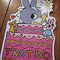 Joyeux Anniversaire Trotro, de <b>Bénédicte</b> <b>Guettier</b>