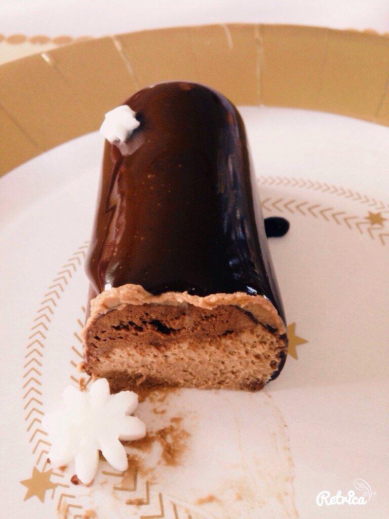 Mini buches trois chocolats Valrhona