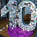 Anniversaire top chef (4) : réaliser une structure en polystyrène pour piquer des bonbons (tuto inside !)