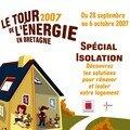 Le tour 2007 de l'énergie en bretagne du 28 septembre 2007 au 6 octobre 2007