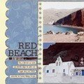 Iles grecques (9) Red beach