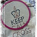 Mini sal : keep calm and cross stitch obj 4