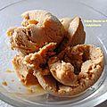 Crème glacée au pain d'epice