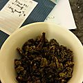 Test de thé #32 : Oolong Nuo Mi Xiang de chez Tea <b>and</b> <b>Ty</b>