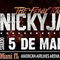 Nicky jam en concert le 5 mars a miami -floride