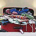 Brésil : la préparation des valises ... tout un programme !