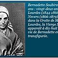 SAINTE <b>BERNADETTE</b> : MESSAGE DU JEUDI 11 FÉVRIER 2021