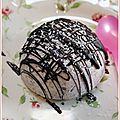 Ricotta glacée à la noix de coco façon bounty®