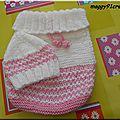 Cocoon+Bonnet KAL 12Momotte-Titou