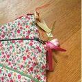 Pochette pocket printemps rose