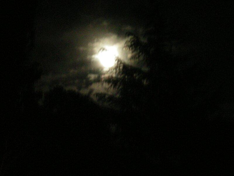 C-Pleine lune dans le ciel d'Ajaccio