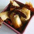 Croustillants aux crevettes