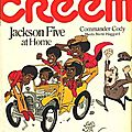 At home with the jackson five - creem, septembre 1971