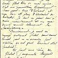 1er février 1916: la dernière lettre de henri