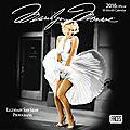<b>Calendriers</b> Marilyn Monroe <b>2016</b>