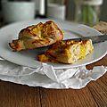 Petites brioches orange, pomme & sirop d'érable