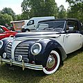 Rosengart super traction lr 539 cabriolet 1939
