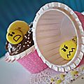 Cupcake Joséphine ... Choco / <b>Banane</b> Recette de Chloé Saada