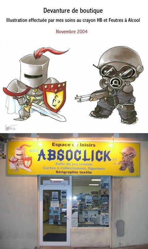 Devanture d'Absoclick