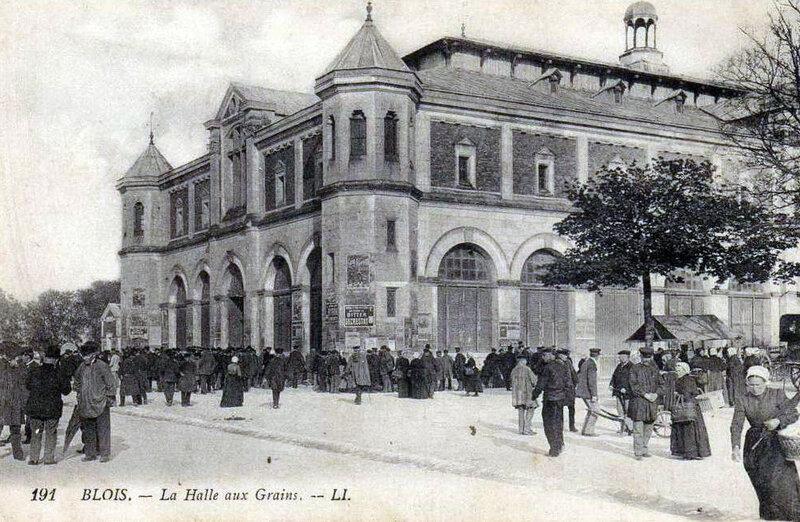 Blois - halle aux grains