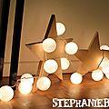 Diy décorer avec des étoiles en bois … pour noël ?
