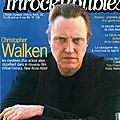 Christopher walken interview (french) les inrocks