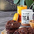 La recette des cookies chocolat, noix de pécan et cranberry de Jean Hwang Carrant (challenge cookies #1)