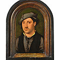 Joos van Cleve (around 1485 Kleve - 1541 Antwerp), <b>Portrait</b> <b>of</b> <b>a</b> <b>young</b> <b>man</b>