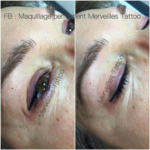 Maquillage permanent eye liner