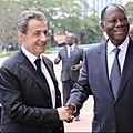 Côte d'Ivoire : de quoi se mêle <b>Sarkozy</b> ?