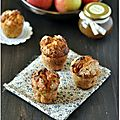 Muffins aux pommes épicées et concours bjorg inside avec un jolis colis à gagner