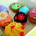 Cupcakes pour un calendrier