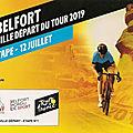 <b>Tour</b> de <b>France</b> 2019, Belfort ville départ