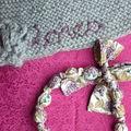 Bonnet et collier pour Lorea